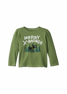 Life is good Merry X-Moose Crusher Knit Tee (Toddler)