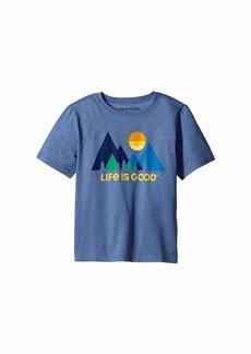 Life is good Minimalist Landscape Cool Tee™ (Little Kids/Big Kids)