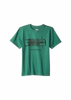 Life is good Mobile Device Sled Crusher T-Shirt (Little Kids/Big Kids)