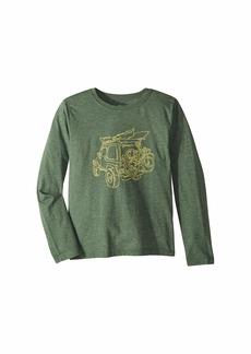 Life is good Off-Road Outdoor Cool T-Shirt Long Sleeve (Little Kids/Big Kids)