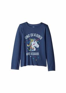 Life is good One of a Kind Crusher T-Shirt Long Sleeve (Little Kids/Big Kids)