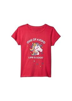 Life is good One of a Kind Unicorn Crusher Tee (Little Kids/Big Kids)