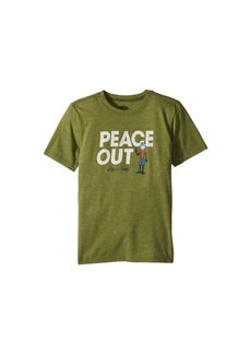 Life is good Peace Out Jake Cool Tee (Little Kids/Big Kids)