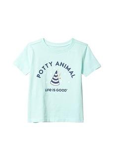 Life is good Potty Animal Crusher Tee (Toddler)