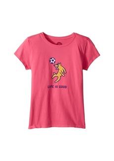 Life is good Rocket Soccer Crusher T-Shirt (Little Kids/Big Kids)