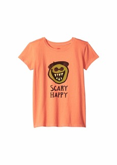 Life is good Scary Happy Crusher T-Shirt (Little Kids/Big Kids)
