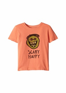 Life is good Scary Happy Crusher T-Shirt (Toddler)