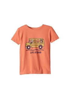 Life is good School Bus Friends Crusher Tee (Toddler)