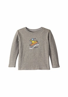 Life is good Sled Dog Crusher Knit Tee (Toddler)