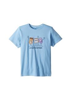 Life is good Stick Together PB & J Crusher T-Shirt (Little Kids/Big Kids)