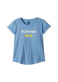 Life is good Summer Love Smiling Smooth Tee (Little Kids/Big Kids)