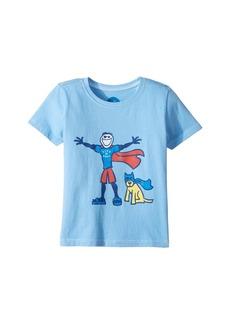 Life is good Superhero Jake & Robert Crusher (Toddler)