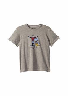 Life is good Superhero Jake and Rocket Crusher Knit Tee (Little Kids/Big Kids)