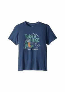 Life is good Take a Hike Crusher T-Shirt (Little Kids/Big Kids)