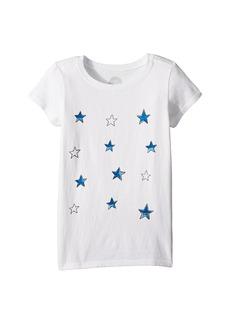 Life is good Tossed Stars Crusher T-Shirt (Little Kids/Big Kids)