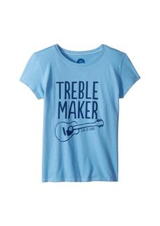 Life is good Treble Maker Crusher T-Shirt (Little Kids/Big Kids)