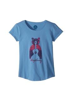 Life is good Unplug Bear Smiling Smooth Tee (Little Kids/Big Kids)