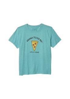 Life is good Wanna Pizza Me? Cool Tee (Little Kids/Big Kids)