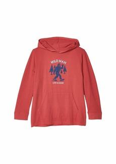 Life is good Wild Man Hooded Crusher Tee (Little Kids/Big Kids)