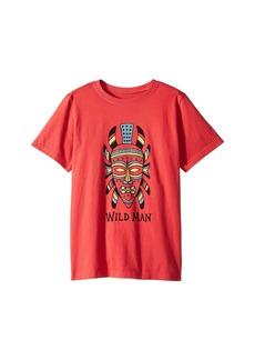 Life is good Wild Man Mask Crusher Tee (Little Kids/Big Kids)