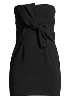LIKELY Araya Strapless Twist Mini Dress