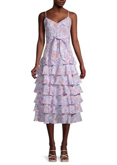 LIKELY Ariella Floral-Printed Dress