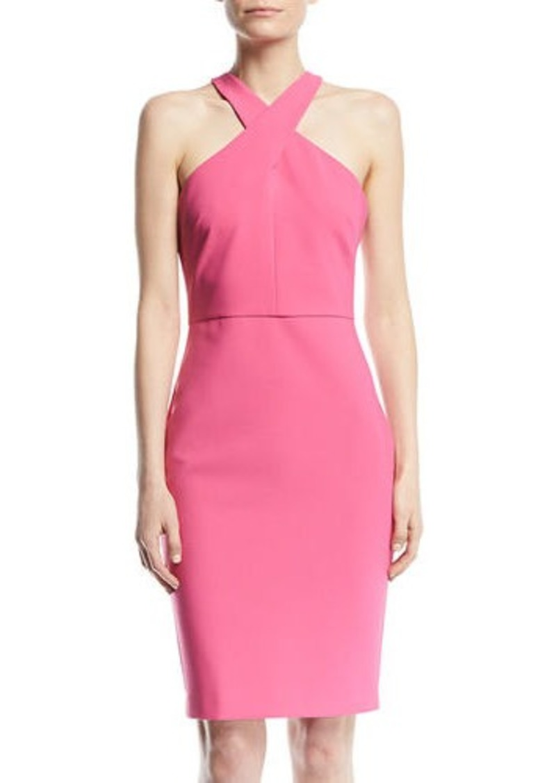 0f52ade5be LIKELY Carolyn Halter-Neck Sheath Dress Now  65.00