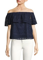 LIKELY Cicero Off-The-Shoulder Top