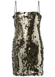 LIKELY fitted sequin-embellished dress