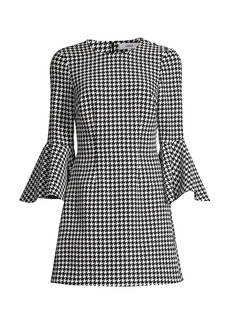 LIKELY Houndstooth Mallory Dress