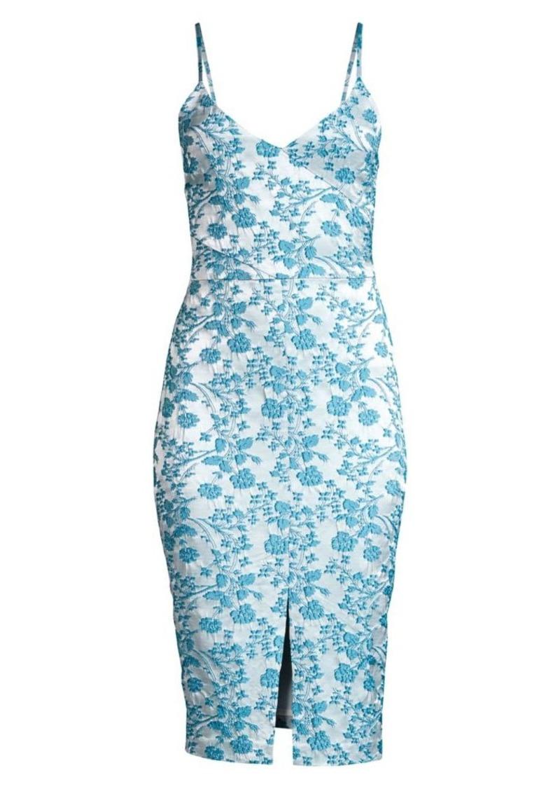 LIKELY Isla Brocade Sheath Dress