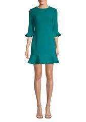 LIKELY Leah Ruffle Shift Dress