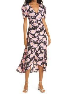LIKELY Mylene Floral Short Sleeve Dress