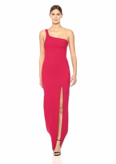LIKELY Women's Camden one Shoulder Gown Persian red