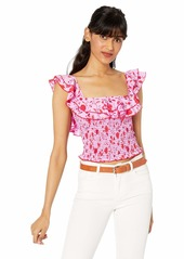 LIKELY Women's Leila Floral Athena Top  L