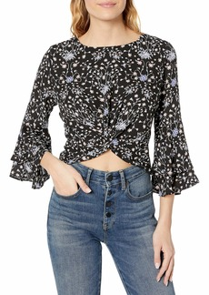 LIKELY Women's Lolita Knotted Top  L