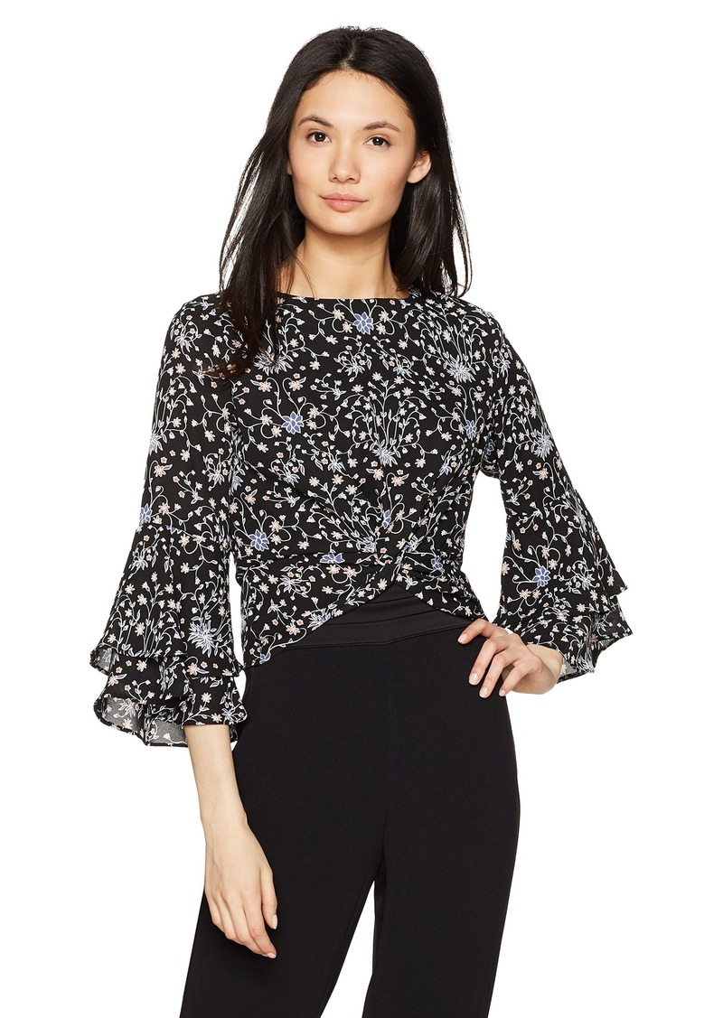 LIKELY Women's Lolita Knotted Top  S