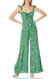 LIKELY Women's Mariah Jumpsuit Green/Black