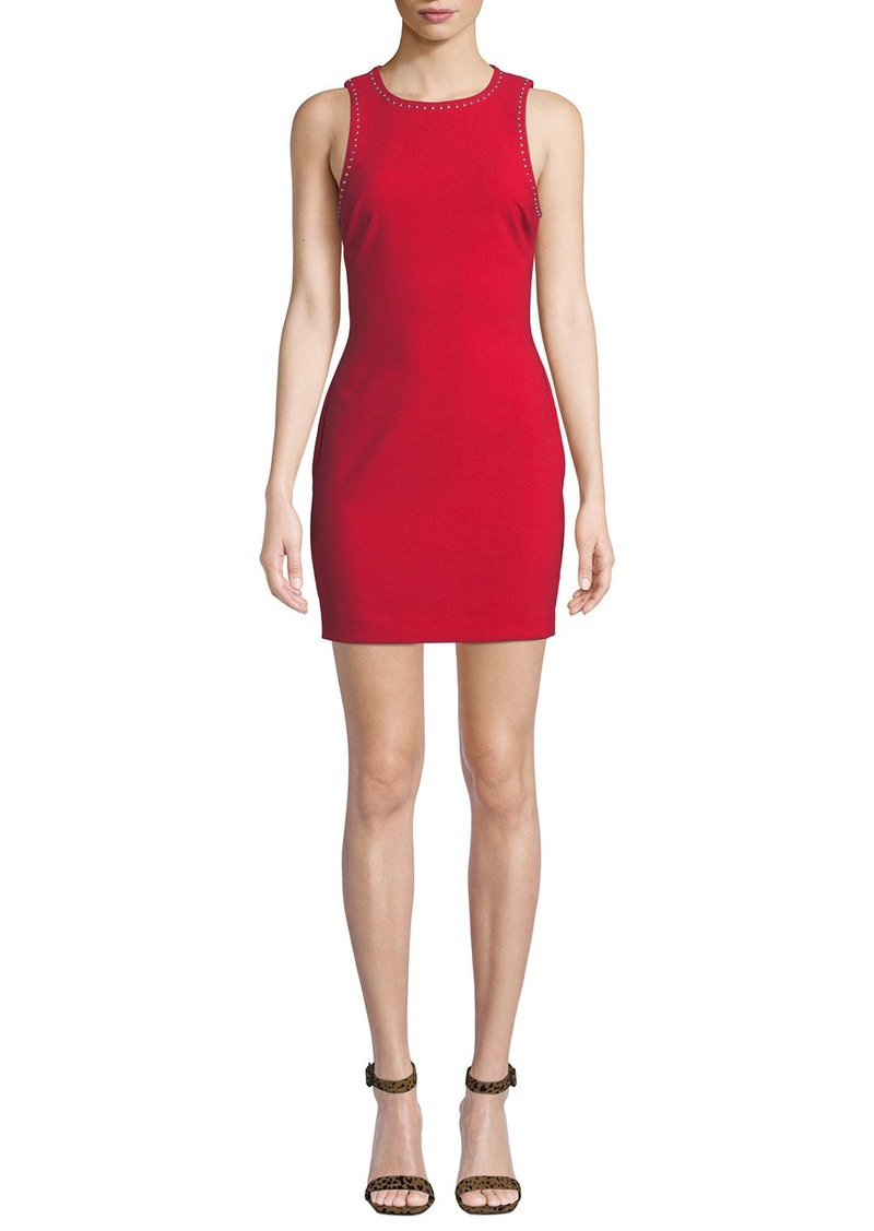 LIKELY Manhattan Fitted Sleeveless Mini Dress