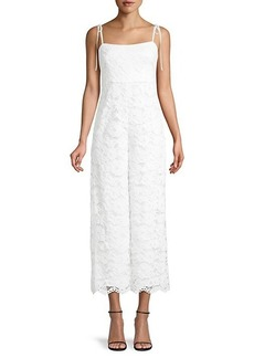 LIKELY Miley Lace Cropped Jumpsuit