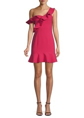 LIKELY Norvina Mini Flounce Dress