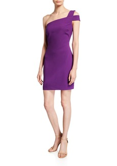 LIKELY Packard One-Shoulder Short Cocktail Dress