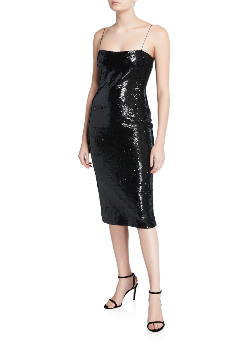 LIKELY Reese Sequined Midi Dress