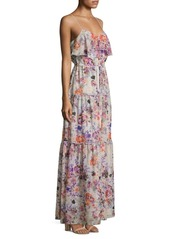 LIKELY Rosy Dream Barada Maxi Dress