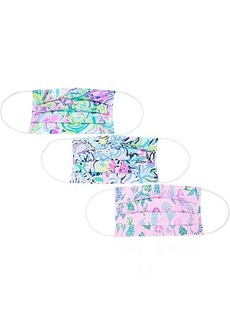 Lilly Pulitzer 3-Pack Face Mask Assorted