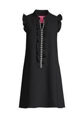 Lilly Pulitzer Adalee Embellished V-Neck Shift Dress