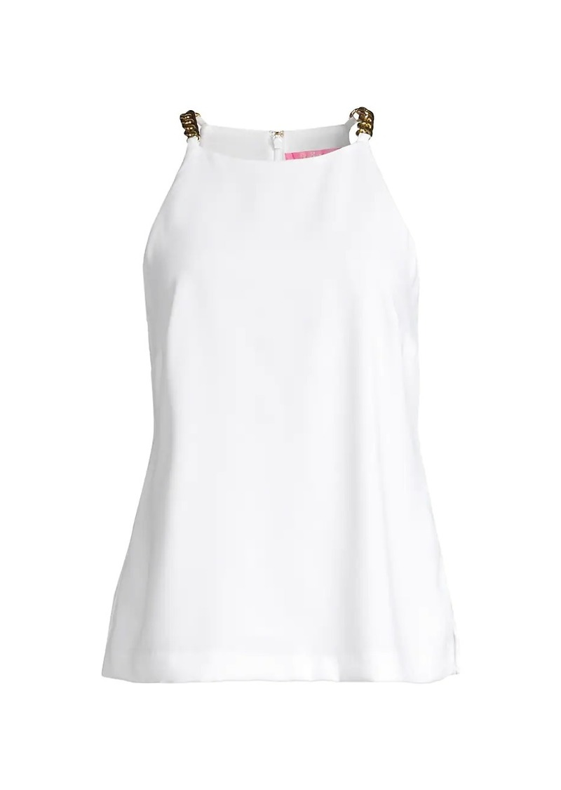 Lilly Pulitzer Adrienne Chain Strap Top