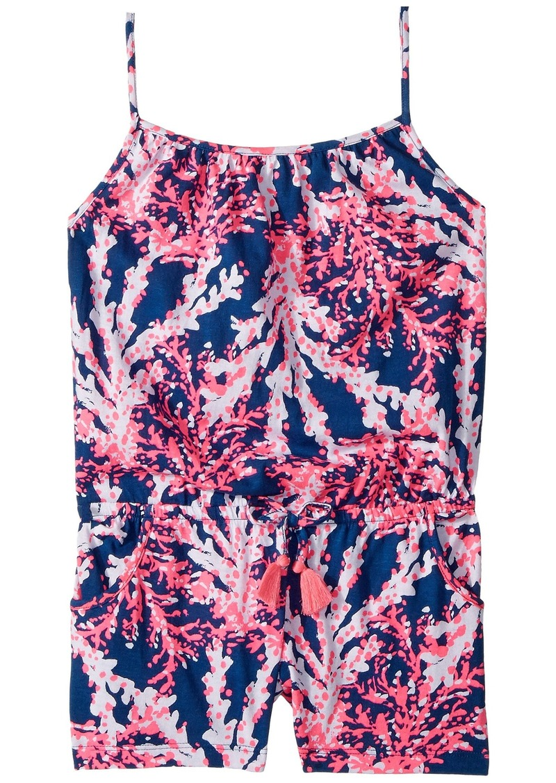 3f779c1cd Lilly Pulitzer Aleene Romper (Toddler Little Kids Big Kids)
