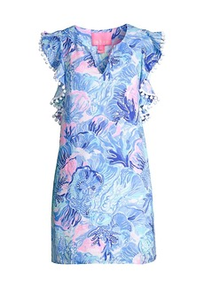 Lilly Pulitzer Astara Flutter Linen Dress