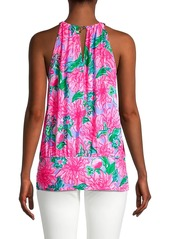 Lilly Pulitzer Bowen Floral Halter Top